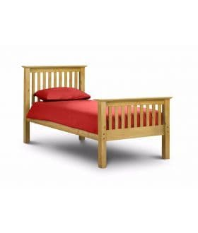 Barcelona High Footend Bedframe  - Pine