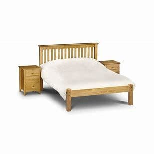 Barcelona Low Footend Bedframe - Pine