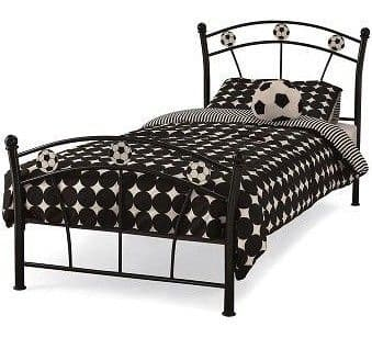 Soccer Single Bedframe (3Ft) - Black