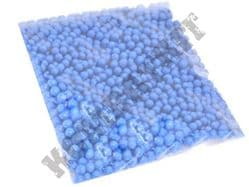 1000 x 6mm x 12g Blue Polished Airsoft BB Gun Pellets in Bag Kombatkit Premium Grade