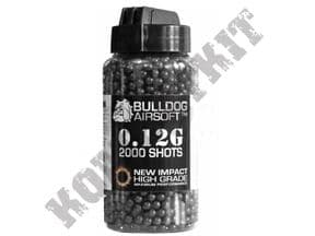 Airsoft Sniper bb gun pellets polished Black 2000 x 12g x 6mm in tub pro grade skirmish ammo plastic