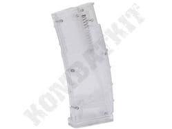 500 Round Airsoft BB Gun AEG 6mm Pellet Ammo Hi Cap Magazine Speed Loader Clear