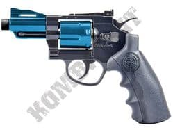 "803BX Airsoft Pistol Magnum Revolver Replica Co2 BB Gun Black & 2 Tone Metal 2.5"" Barrel"