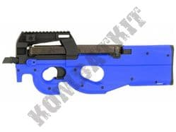 CM060 P90 PDW Replica AEG Electric Airsoft BB Machine Gun 2 Tone Blue Black