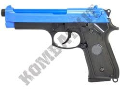 CM126 BB Gun Beretta M9 Replica Electric Airsoft Pistol 2 Tone Colours