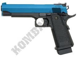 CM128 Airsoft Pistol 1911 Hi-Capa AEP Electric BB Gun Black & 2 Tone