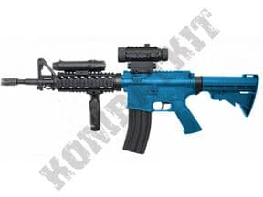 D92H BB Gun | M4 RIS Replica Electric Airsoft Rifle 2 Tone Colours | KOMBATKIT
