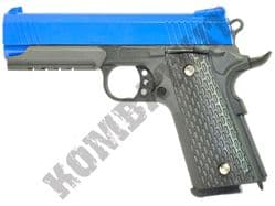 G25 Metal BB Gun Tactical 1911 Kimber Replica Spring Airsoft Pistol Black 2 Tone