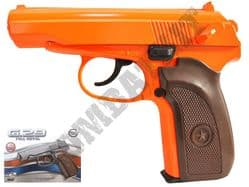 G29 Metal Airsoft BB Gun 2 Tone Orange and Black