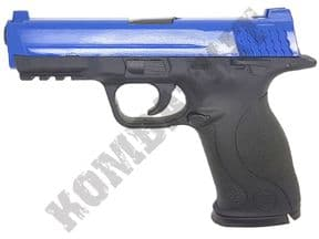 G51 BB Gun | S&W M&P Pistol Replica Spring Airsoft 2 Tone Blue Black | KOMBATKIT SHOP