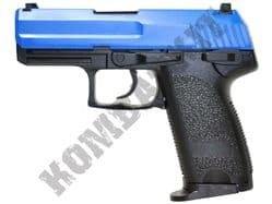 GAH9804 Airsoft BB Gun Black and Blue
