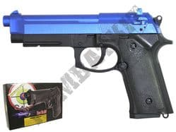 GG105 BB Gun Beretta M92 Railed Replica Gas Airsoft Pistol Black & 2 Tone