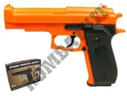HA-106 Airsoft BB Gun Black and Orange