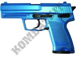 HA112 BB Gun Sig Sauer Replica Spring Airsoft Pistol 2 Tone Blue Black