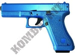 HA117 BB Gun Glock G17 Replica Spring Airsoft Pistol Blue & 2 Tone Colours
