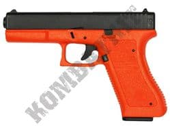HA117Z BB Gun Glock Replica Spring Airsoft Pistol 2 Tone Orange Black Slide