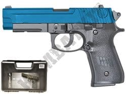 HG170 Airsoft Pistol Sig Sauer P226 Replica Gas Blowback BB Gun Black & 2 Tone Metal