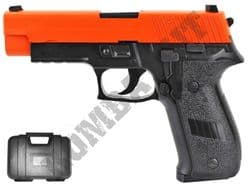 HG175 Gas Blowback Airsoft BB Gun Black and Orange