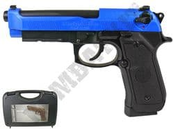 HG190 Airsoft Pistol Beretta M92 Replica CO2 Blowback BB Gun Black & 2 Tone