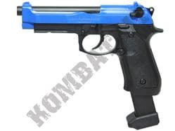 HGC191 Metal CO2 Blowback Airsoft Gun Black and Blue