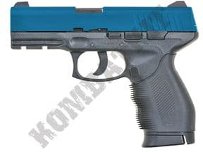 KC46HN BB Gun | Taurus PT 24/7 Replica CO2 Gas Airsoft Pistol 2 Tone Blue | KOMBATKIT