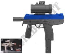M30GL Steyr SMG Machine Pistol Replica Spring Airsoft BB Gun Black 2 Tone