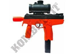 M30GL Steyr SMG Machine Pistol Replica Spring Airsoft BB Gun Orange Black 2 Tone