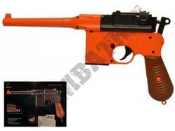 M32 Airsoft BB Gun Black and Orange