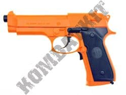 M92F Electronic Blow Back Airsoft BB Gun Black and Orange