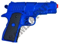 R46 Die-Cast Metal 8 Shot Toy Cap Gun with sound Police Blue