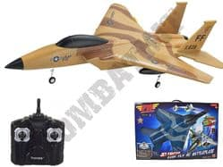 Radio Controlled Airplane RC Model F15 Jet Fighter Aircraft 6213 Glider Flying Toy 2.4ghz RTF