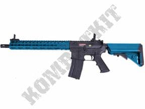 "ST-GBB10ABK Airsoft Rifle | M4 13"" Keymod Gas Blowback BB Gun Black 2 Tone 
