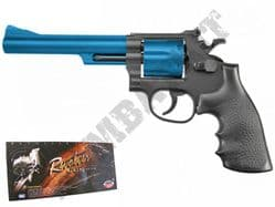 UA936 BB Gun S&W M29 Revolver Replica Spring Airsoft Pistol Black 2 Tone Colours