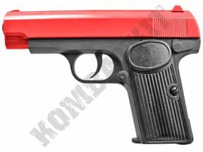 V8 Metal BB Gun | Russian Military TT33 Spring Airsoft Pistol 2 Tone Colours | KOMBATKIT