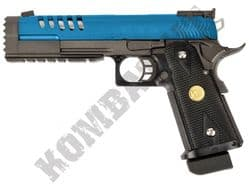 WE 5.2K Hi Capa 1911 Airsoft Pistol Gas Blowback BB Gun Black & 2 Tone