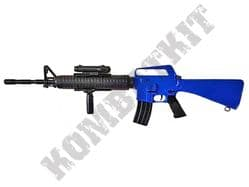 Well M16A3 BB Gun Spring Airsoft Assault Rifle Black & 2 Tone Colours