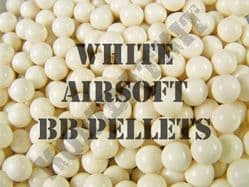 White Airsoft BB Pellets