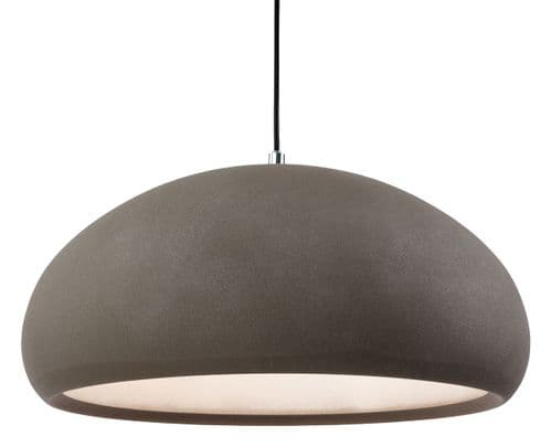 Firstlight 2308CN Rough Sand Concrete Costa Pendant