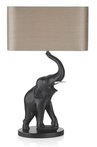 Tantor Table Lamp Black Base Only TAN4222 (Class 2 Double Insulated)