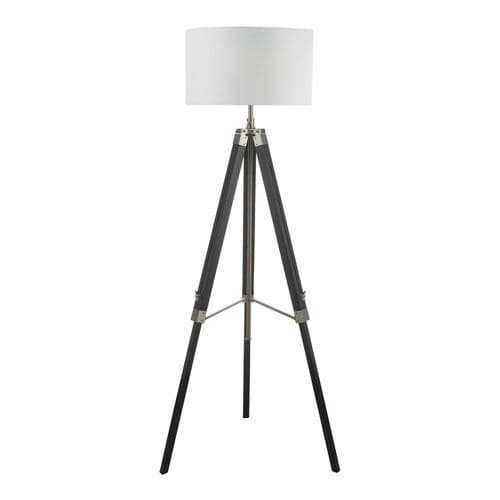Easel Tripod Floor Lamp Black Base Only, double insulated, BXEAS4922-17