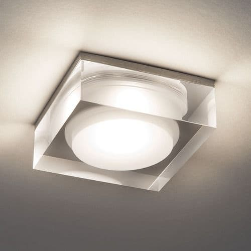 Vancouver Square 90 LED 5753 Clear Acrylic Downlight / Recessed Spotlight (LED)