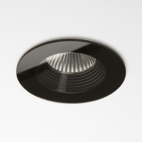 Vetro Round Fire-Rated 5734 Black Downlight / Recessed Spotlight (LED)