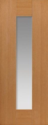 Axis Oak Glazed Prefinished Internal Door