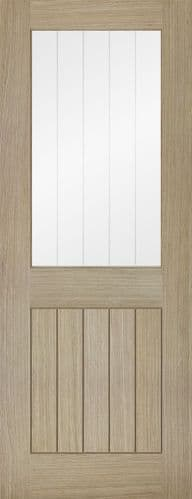 Belize Glazed Light Grey Internal Door