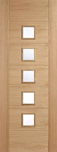 Carini Oak Glazed Internal Door