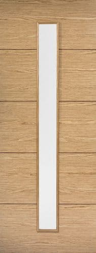 Lille  Glazed Oak Internal Door