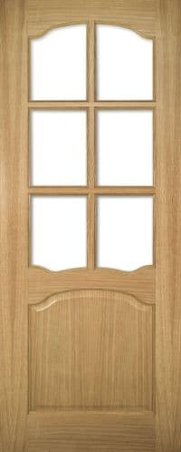 Louis Oak Glazed Internal Door