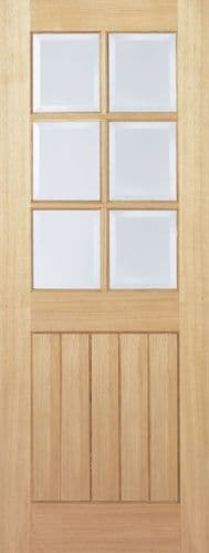 Mexicano 6 L Glazed Internal Door