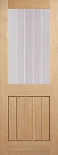 Mexicano Half Light Glazed Internal Door