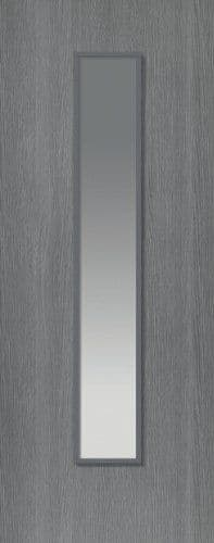 Pintado Grey painted Glazed Internal Doors